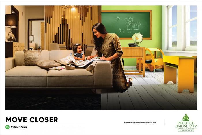 金达尔城市公寓平面广告