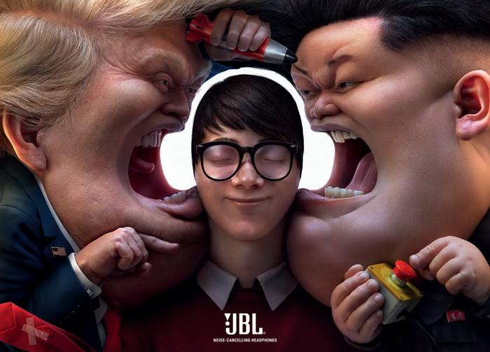 JBL电子平面广告