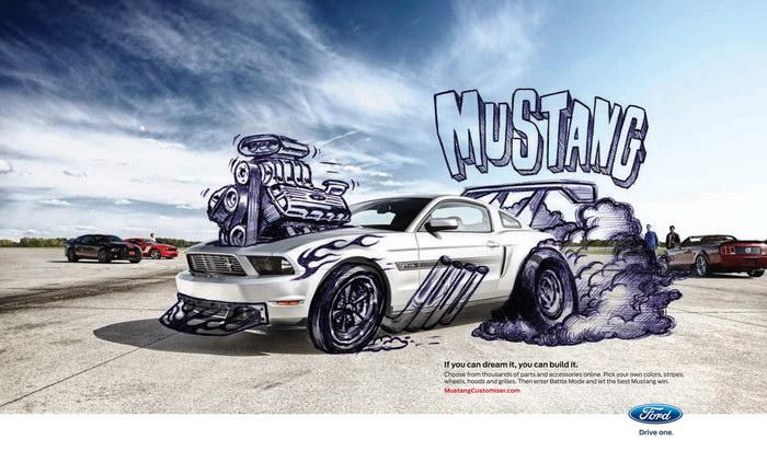 Ford Mustang Car Customizer